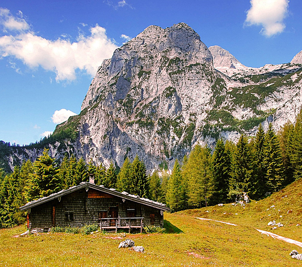 self-guided hiking tour in tyrol