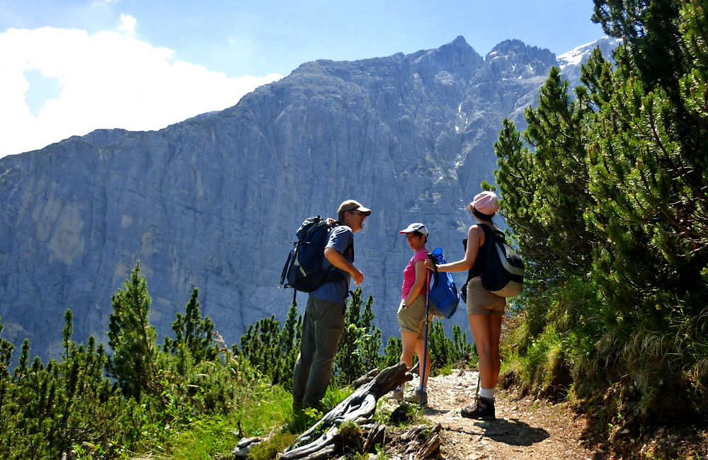 italy dolomites independent hiking tour