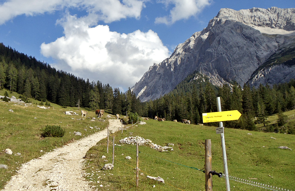 austria self-guided trekking and hiking tours