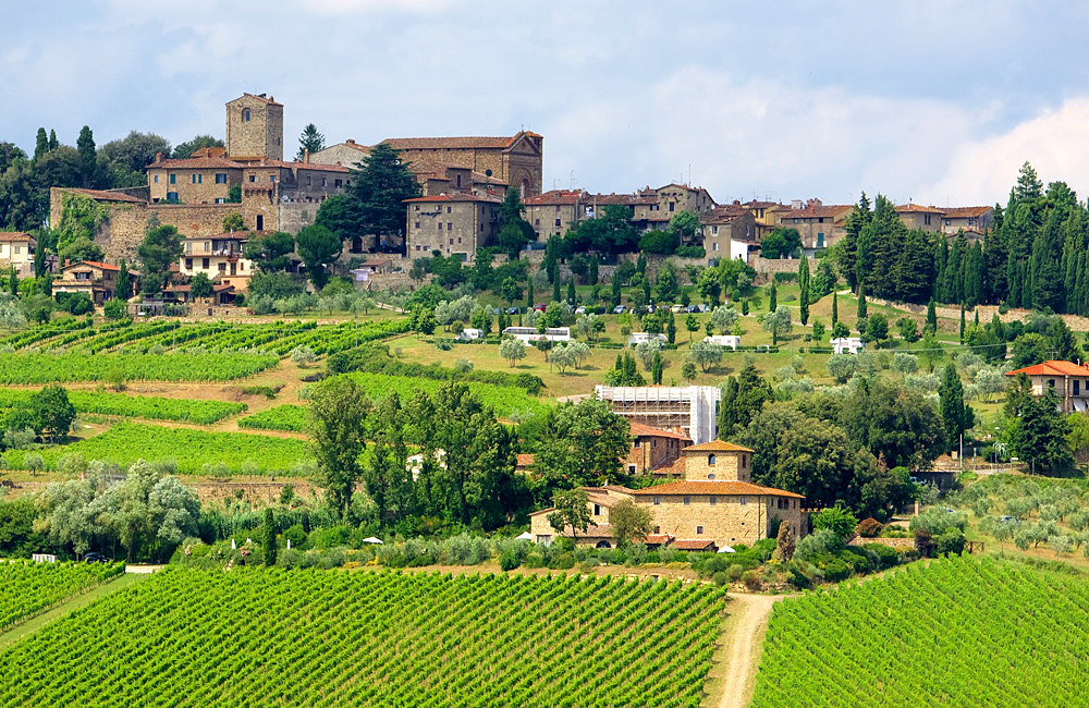 tuscany self-guided walking hiking italy