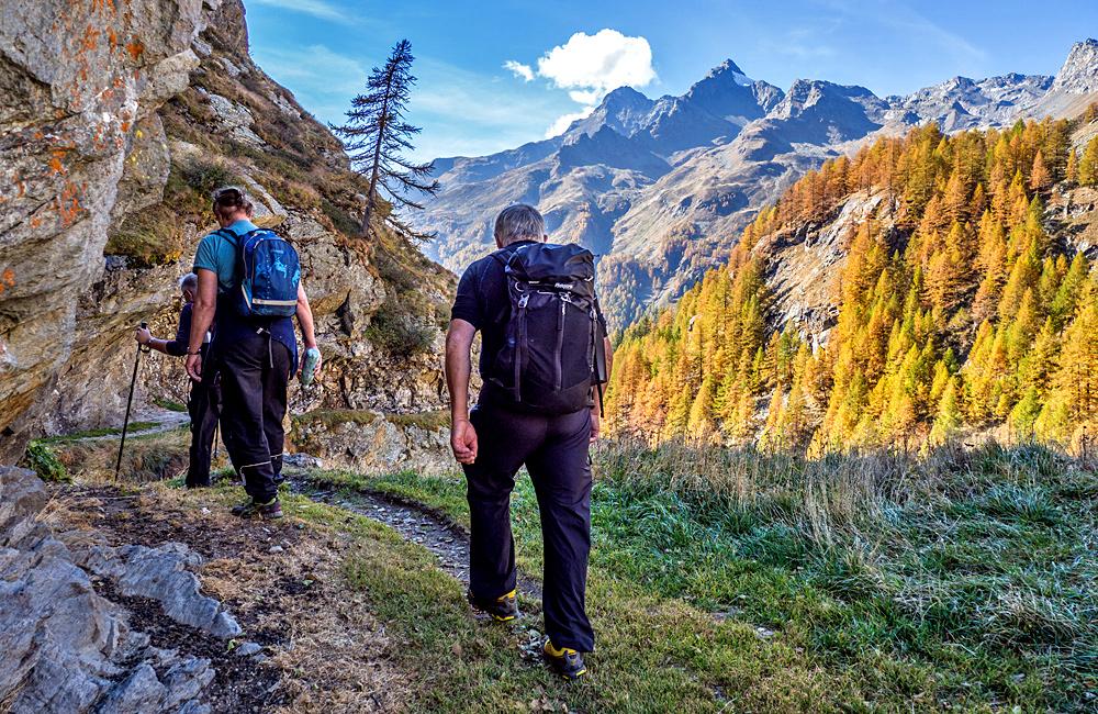 via spluga hiking tour