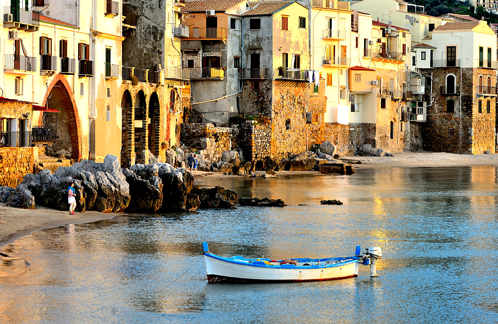 sicily italy self-guided trekking rambling