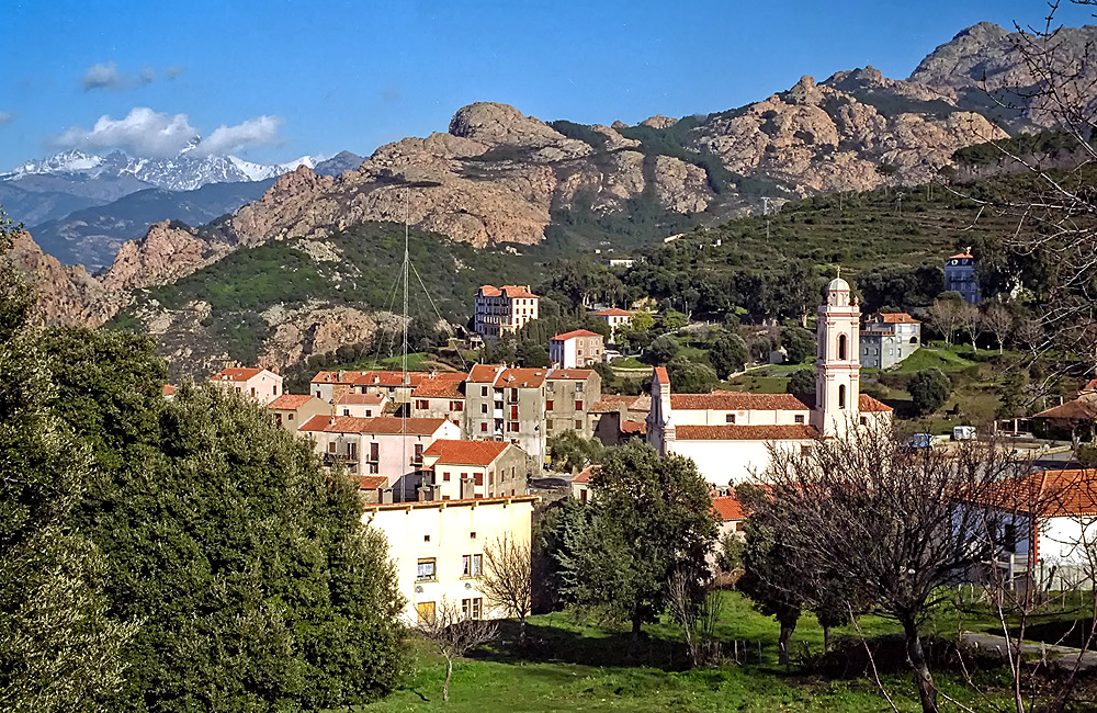 corsica self-guided hiking tours