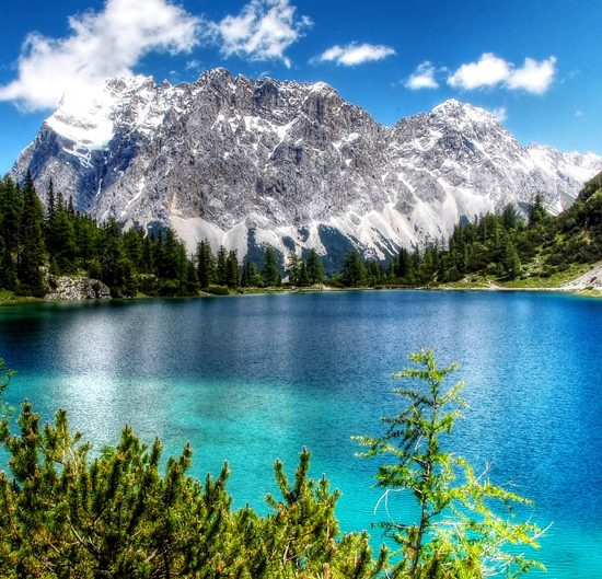 zugspitse self-guided hiking tour in germany