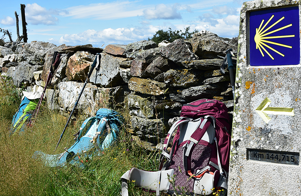 st james unguided trekking in spain