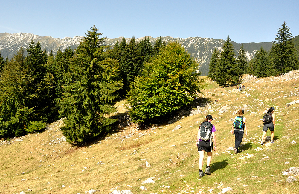 trekking and hiking romania