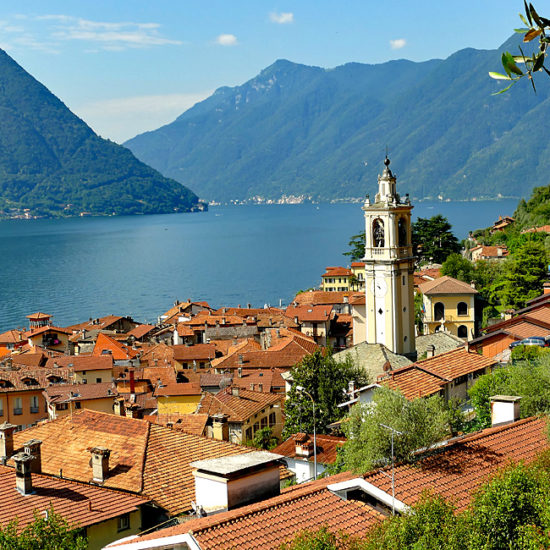como lugano lakes self-guided hiking walking
