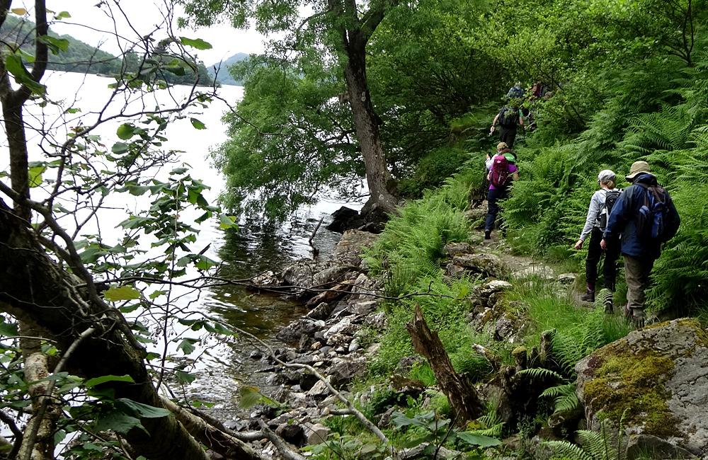 inn to inn self-guided trekking scotland