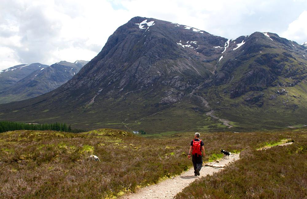glen way self-guided hiking scotland
