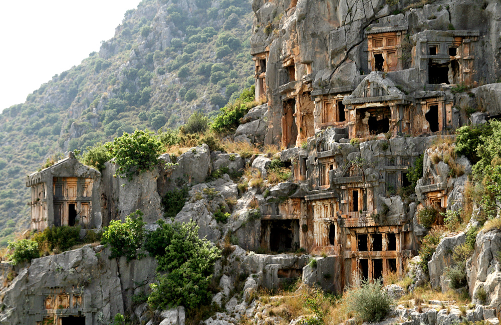 lycian way self-guided walking in turkey