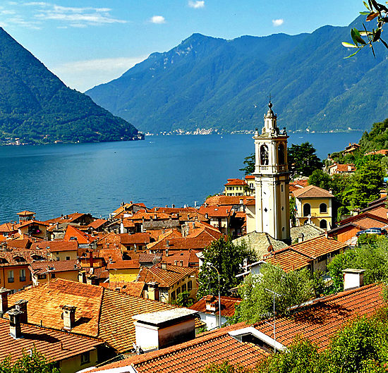 lakes como and lugano self-guided walking and hiking tours, italy