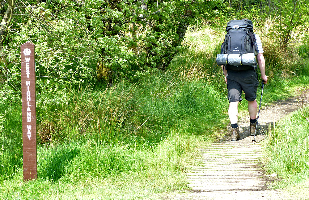 west highland way self-guided walking