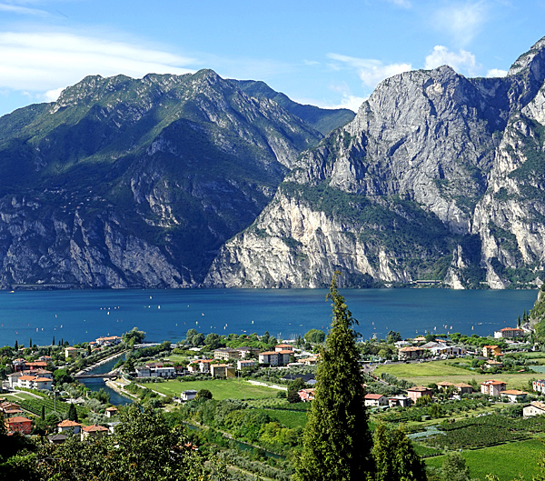 garda lake self-guided walking and hiking tours, italy