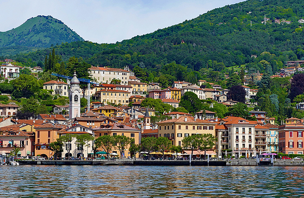 self-guided walking como and lugano lakes italy