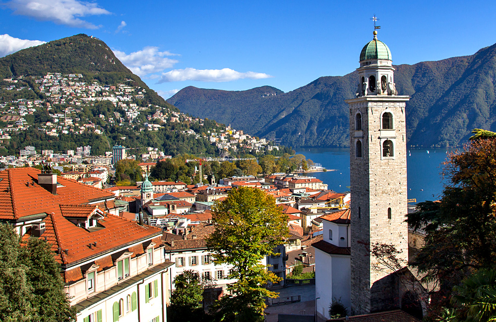 italian lakes como lugano self-guided walking