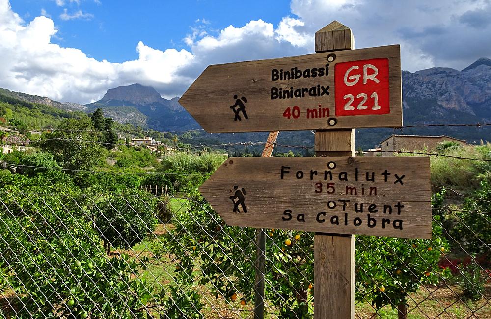 independent trekking in mallorca