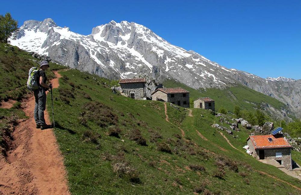 self-guided trekking picos de europa