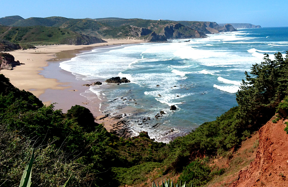 rota vicentina self-guided walking hiking