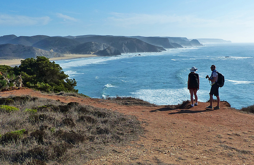 rota vicentina self-guided hiking