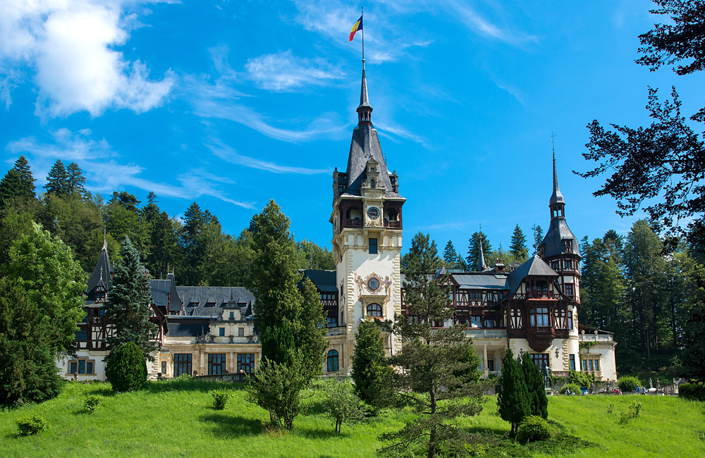 self-guided walking family tour romania