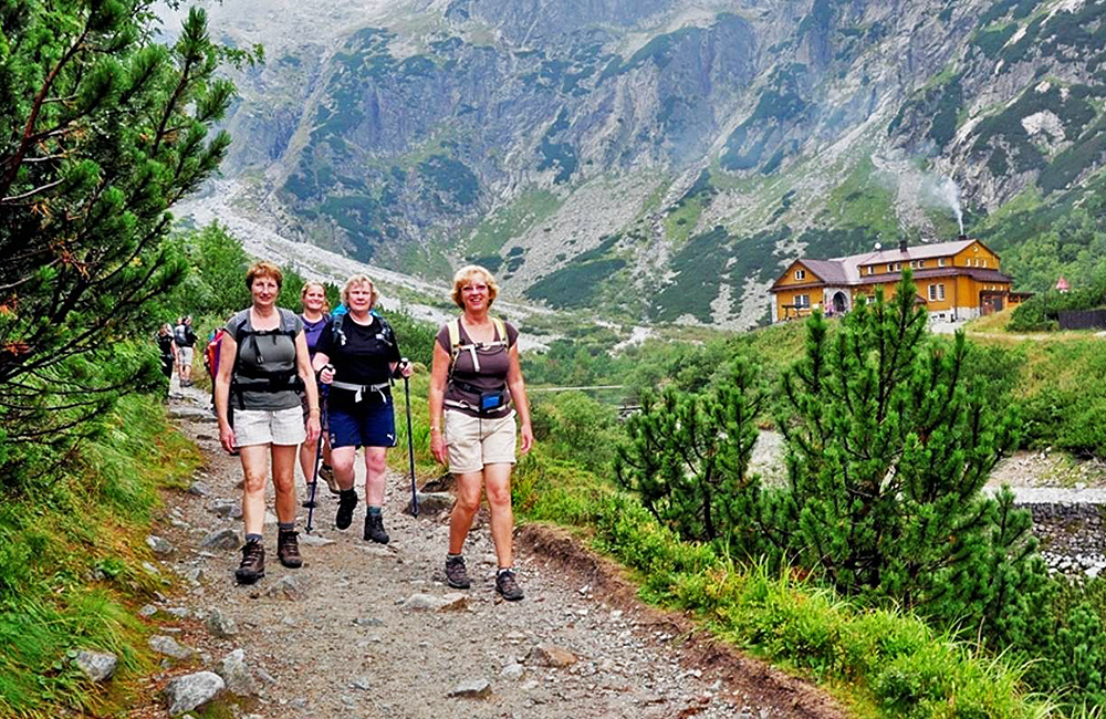 slovakia independent walking and hiking tours