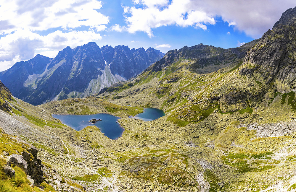 unguided walking and hiking tour in slovakia