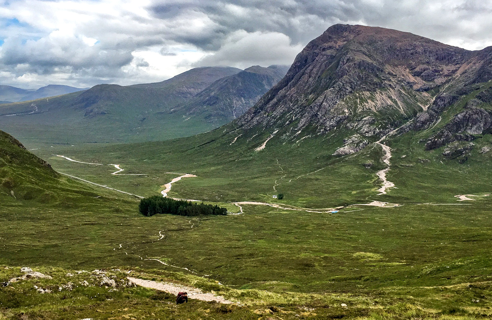 west highland way self-guided trekking