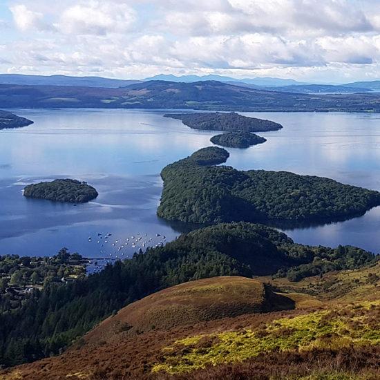 glen way self-guided walking scotland