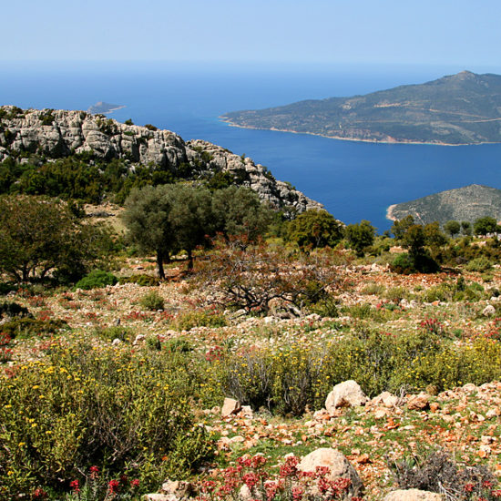 independent trekking in turkey, lycian way