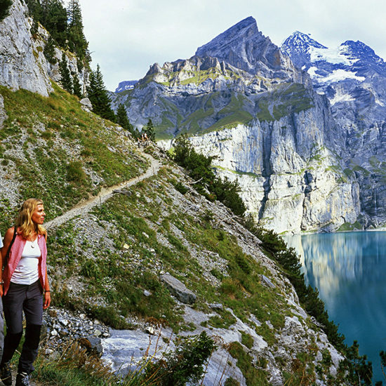 switzerland self-guided trekking