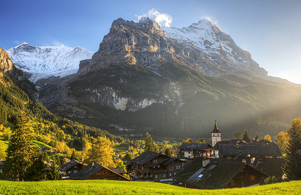 self-guided trekking in the swiss alps