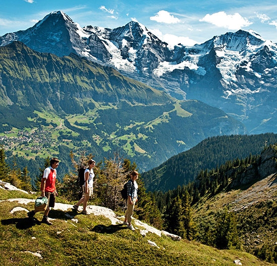 via alpina self-guided hiking trek in switzerland