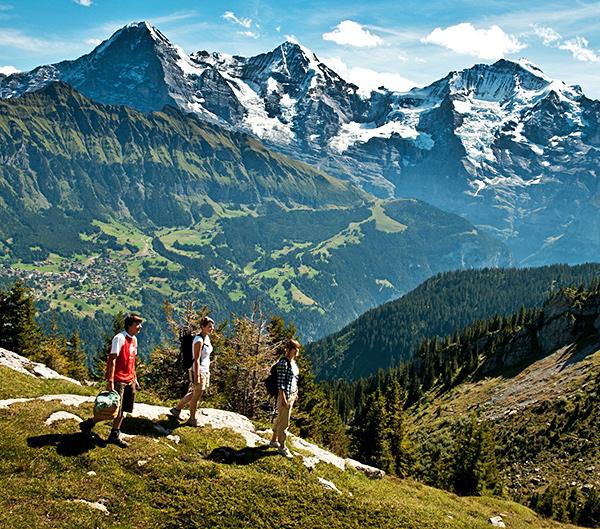 via alpina self-guided hiking trek in switzerland