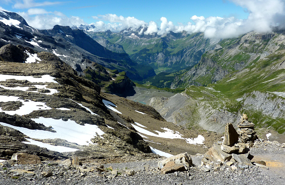via alpina self-guided hiking trek switzerland