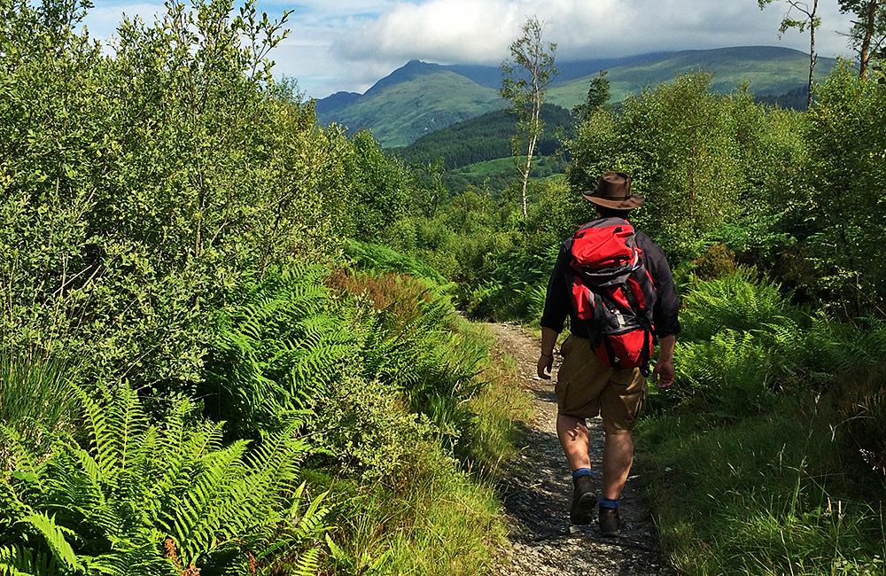 west highland way unguided trekking in scotland