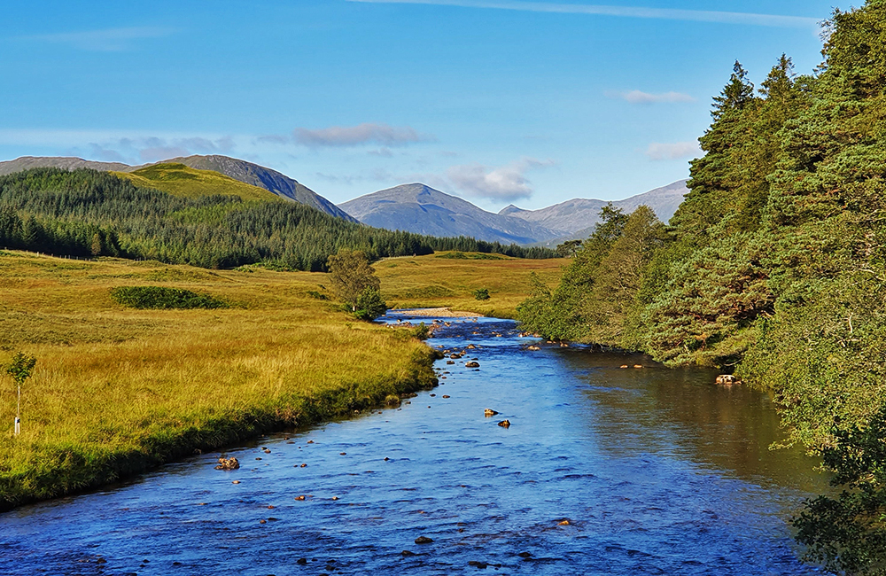 self-guided walking and hiking in scotland, west highland way