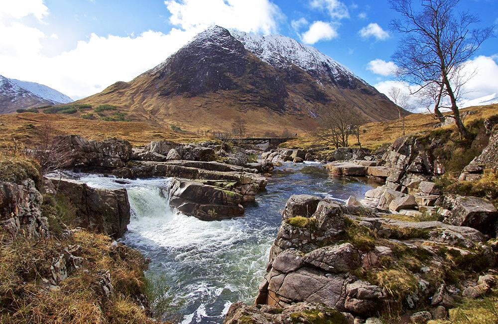 scotland self-guided walking and hiking