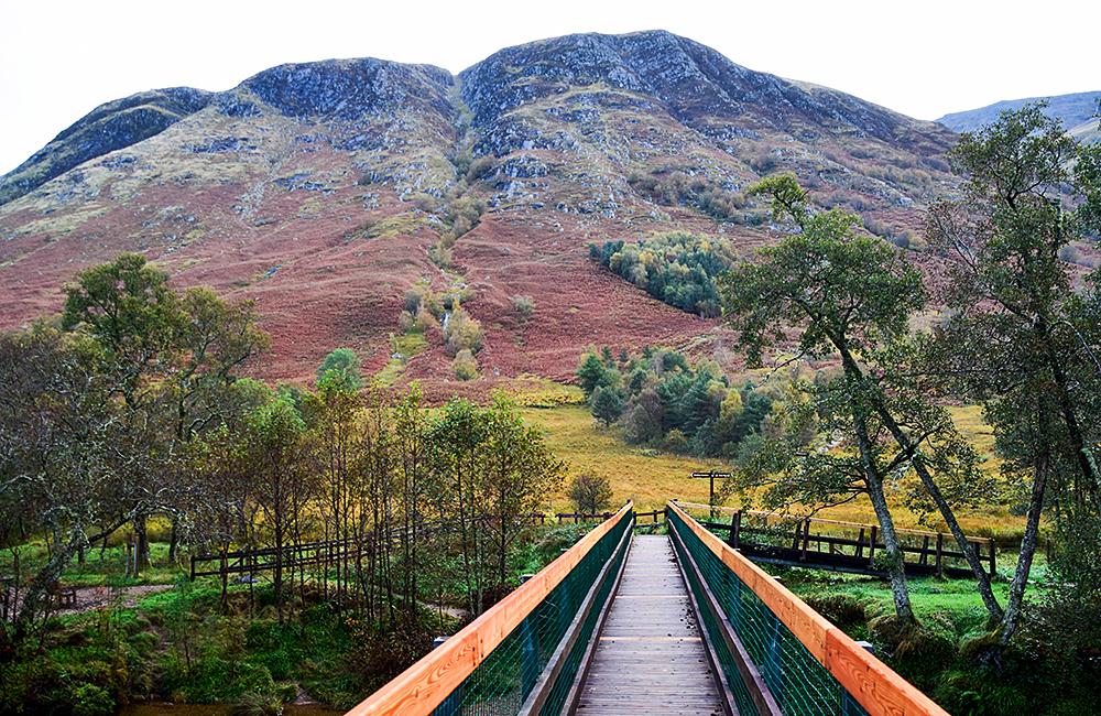inn to inn trekking west highland way, scotland