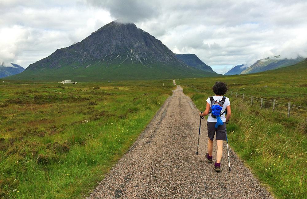 west highland way unguided trekking tour