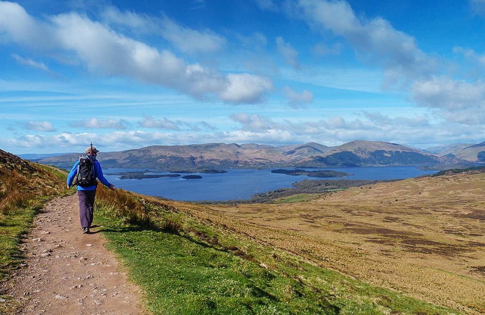 west highland way independent walking tour in scotland