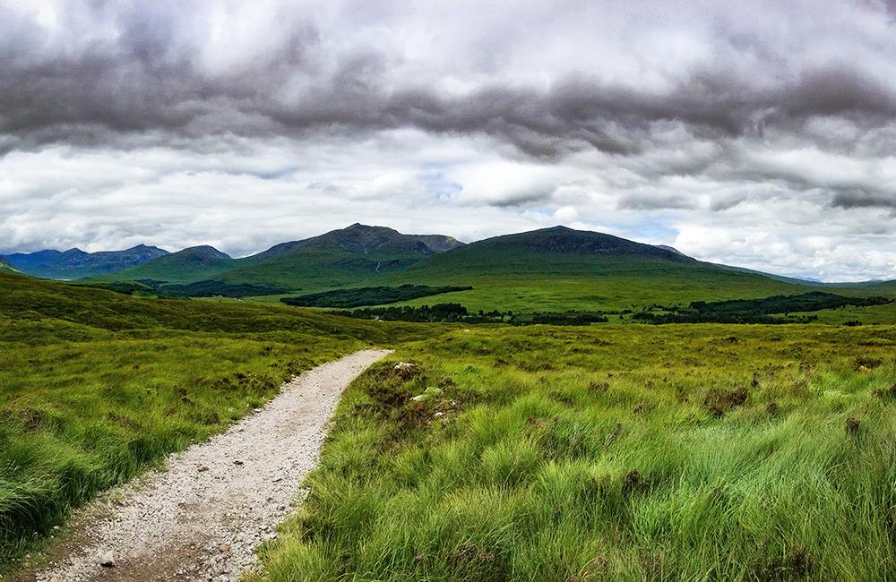 west highland way self-guided trekking, scotland