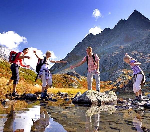 via albula and bernina self-guided hiking in switzerland