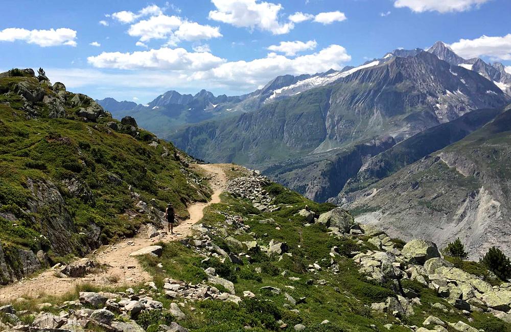 independent trek aletsch glacier