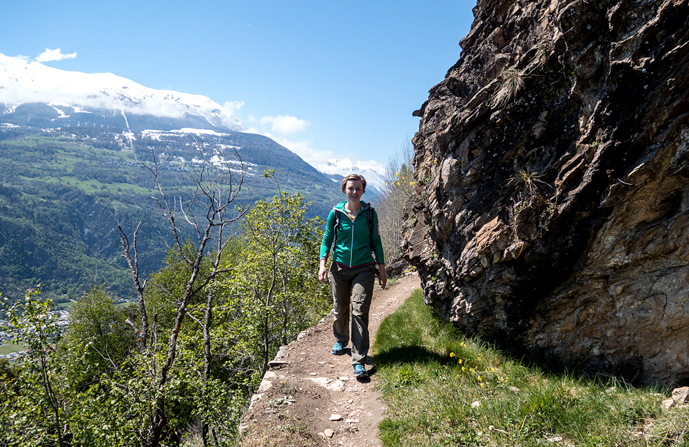 aletsch self-guided walking tour