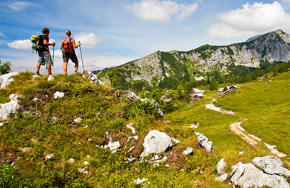 inn to inn trekking tour in slovenia