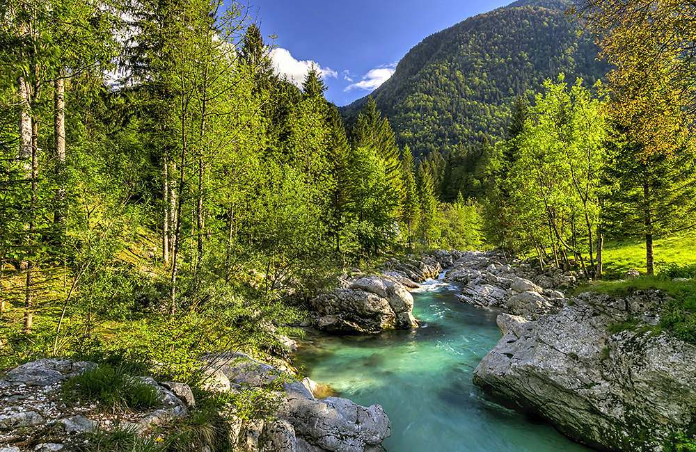 self-guided hiking trek in slovenia