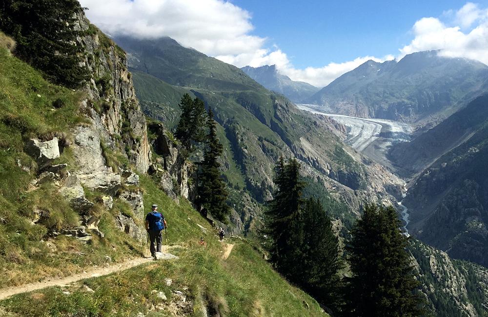 switzerland self-guided hiking