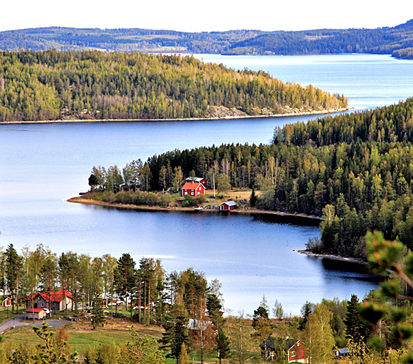 high coast of sweden self-guided walking tour