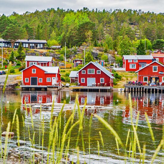 high coast independent walking in sweden