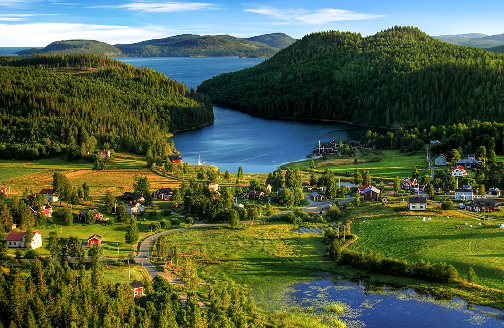 high coast sweden inn to inn trekking